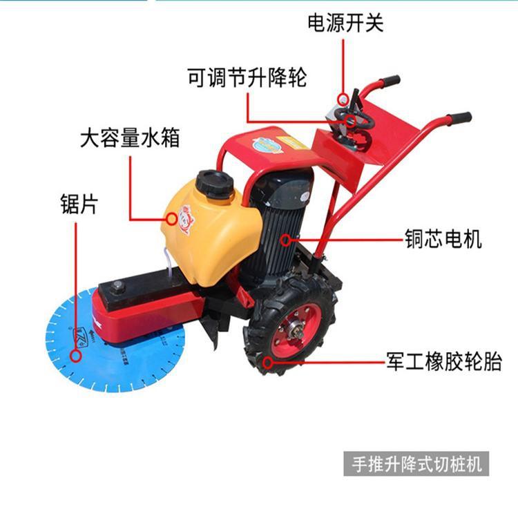 衡水水泥预制管桩切桩机手推混凝土切桩机