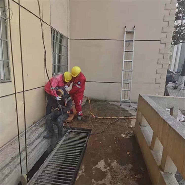 桓台沉井水下清泥公司-潜水员水下浇筑混凝土
