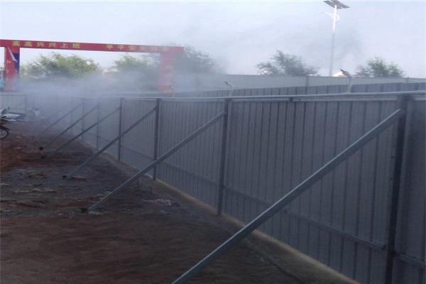 吉林双辽 工地喷雾机 道路喷淋系统 产品质量