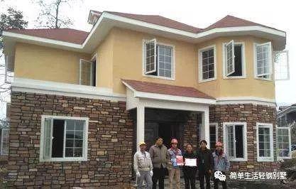 沧州孟村轻钢别墅120米多少钱价位