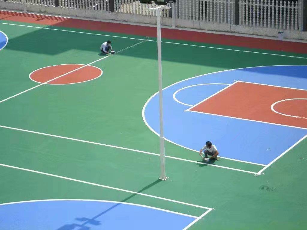 2021天长市篮球场悬浮拼装地板施工工艺价格低于同行