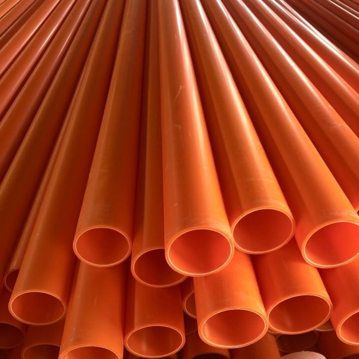 长城区MPP橘黄色电力管生产厂家