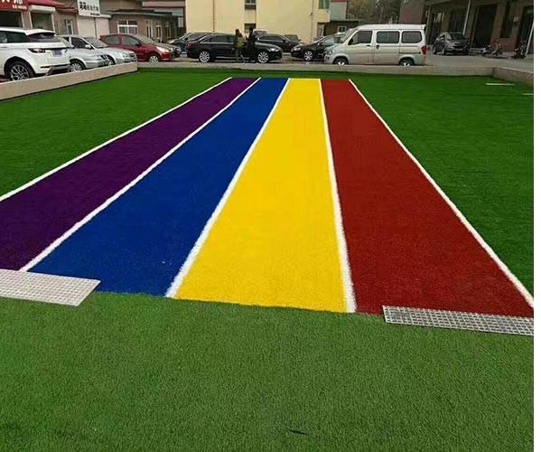 溧阳公园健身塑胶场地施工程序