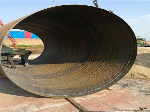 排放废水用螺旋碳钢钢管价格持续东营