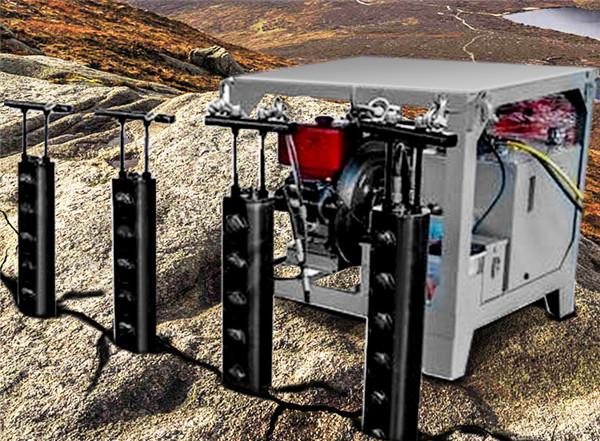 霍州岩石分裂设备土石方开采劈石棒