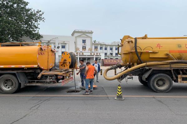 漢沽楊家泊鎮15噸吸污車+抽污水淤泥24小時服務