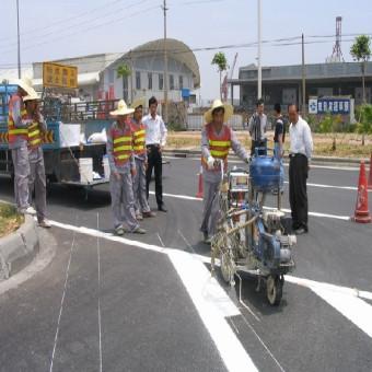禅城区石湾镇厂区热熔道路划线施工公司