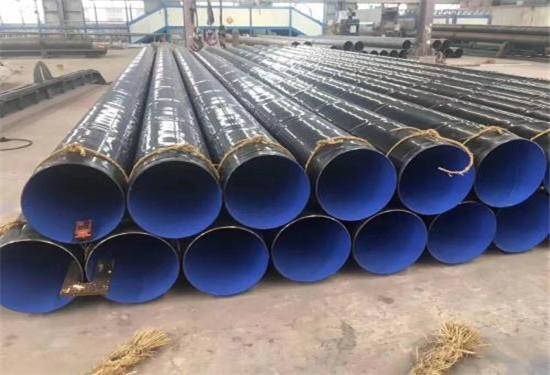 北海银海DN2600*8石油管道用三层PE涂敷钢管到货价格