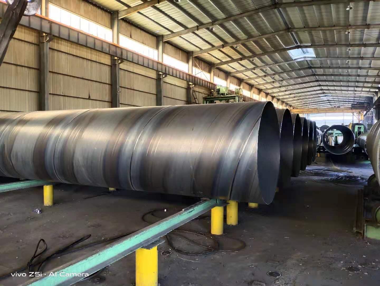 济宁微山热力管道聚氨酯保温管天然气输送螺旋钢管_污水处理用螺旋钢管规格表