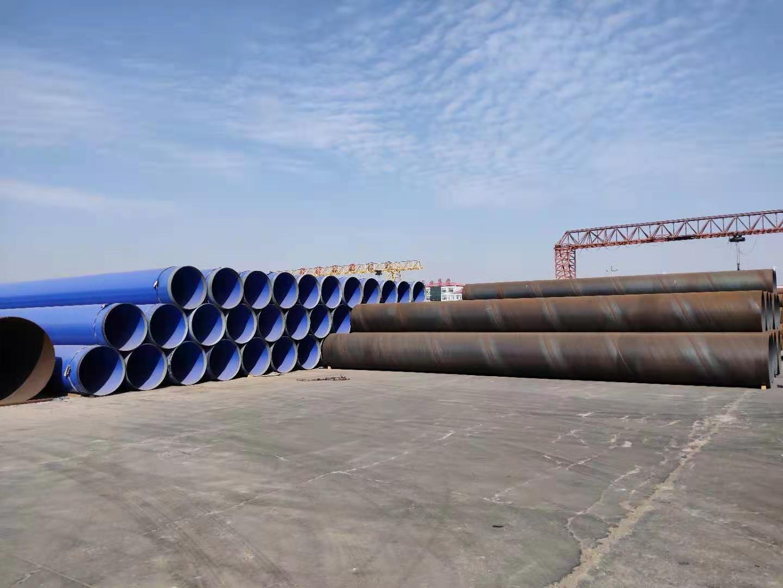 永丰包覆式燃气管道用3PE防腐钢管外缠绕三层聚乙烯防腐螺旋焊管抓教育
