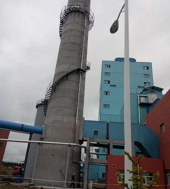 阿尔山烟囱安装旋转梯正确的施工方法是什么?