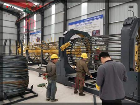 锡林郭勒盟钢筋笼绕笼机使用说明