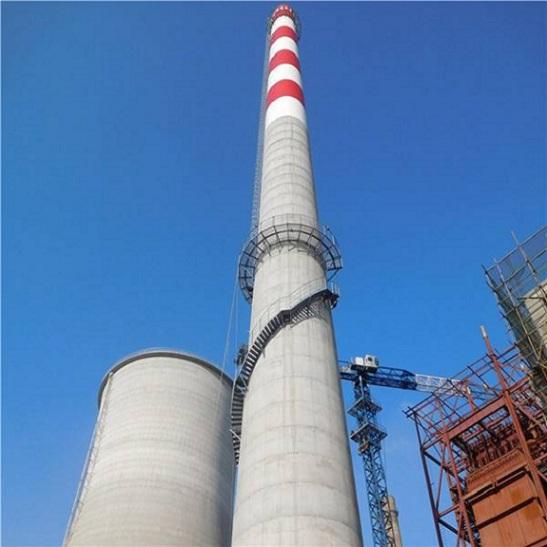 图们烟囱安装旋转梯正确的施工方法是什么?