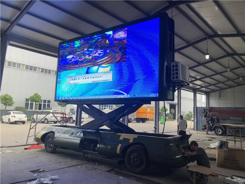 玉溪国六led广告宣传车厂家