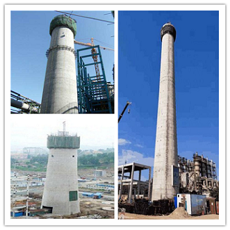 广安烟囱建筑工程常见工艺和浇筑方法有哪些?