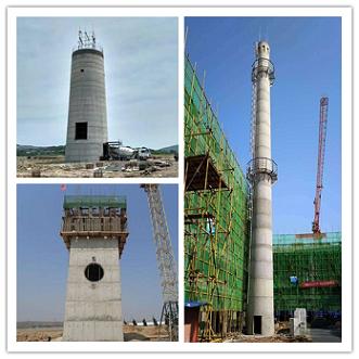 沁阳烟囱新建施工时的浇筑方法是什么?要注意哪些事项?