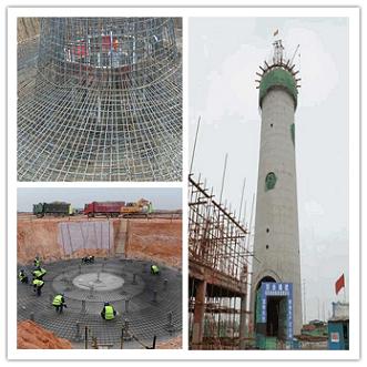 根河水泥烟囱新建施工时常用的浇筑方法有哪些?