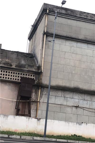 富民限高架标志杆  5米监控立杆_厂家生产制造