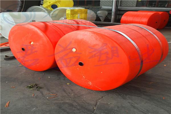 渭濱區攔污浮筒廠家300*600mm浮筒