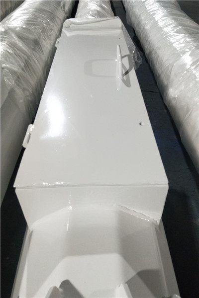 拉孜高室外抱杆防水监控箱  微型八棱锥形杆_必看