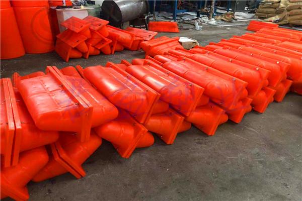 江油市攔污浮筒施工方案1300*1000浮筒