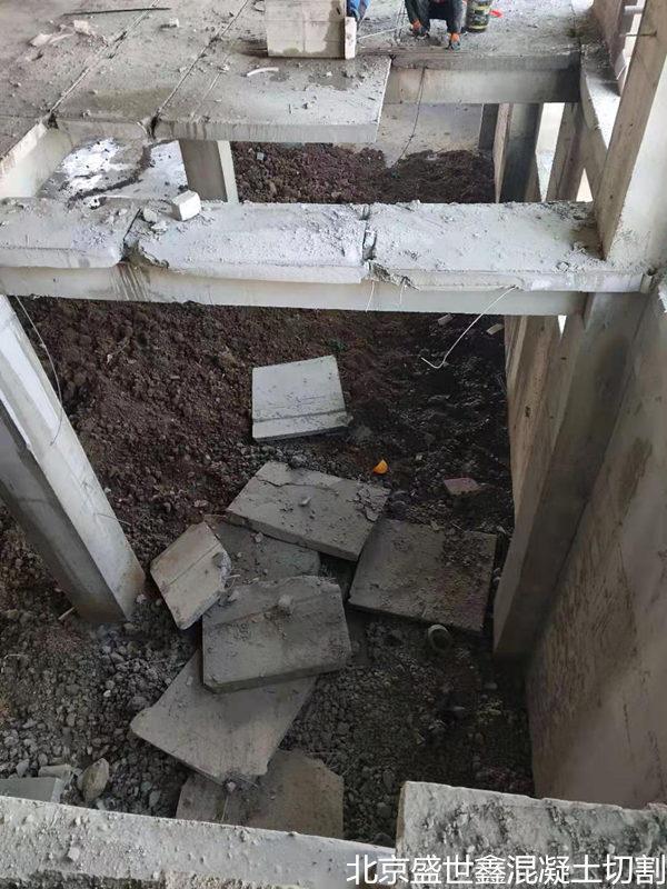 本溪市混凝土柱子切割——施工技术精湛