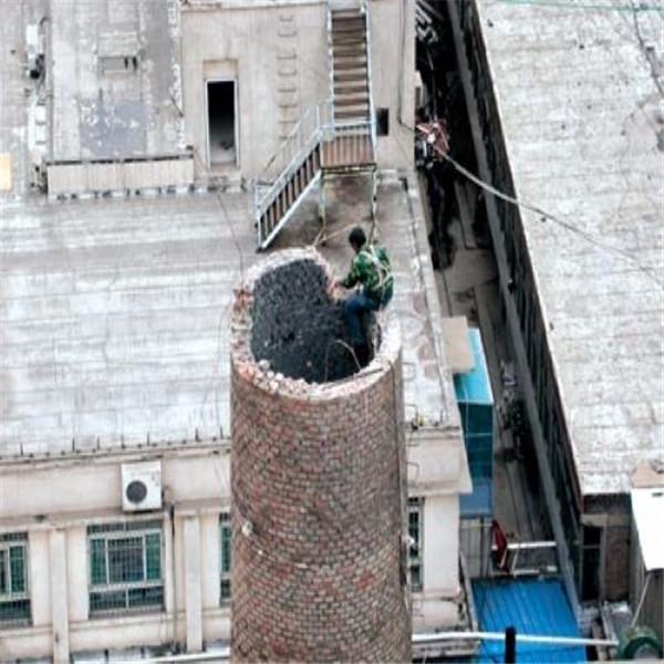 汝州供热烟囱人工拆除公司-#倒锥壳水塔拆除多少钱#