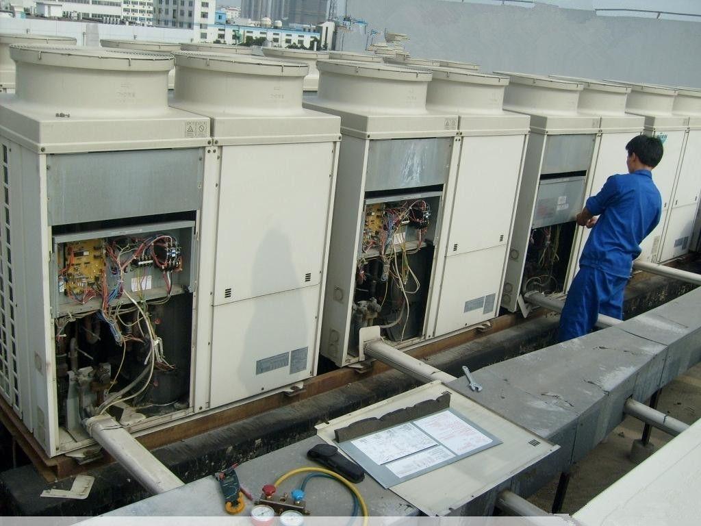 天山路空调安装公司-维修加氟——现场勘察