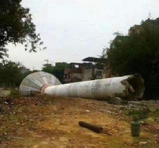 长沙废弃水塔人工拆除-技术加方案