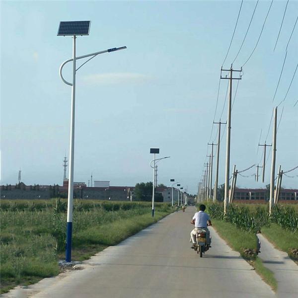 江西吉安接电太阳能路灯厂家-指导安装
