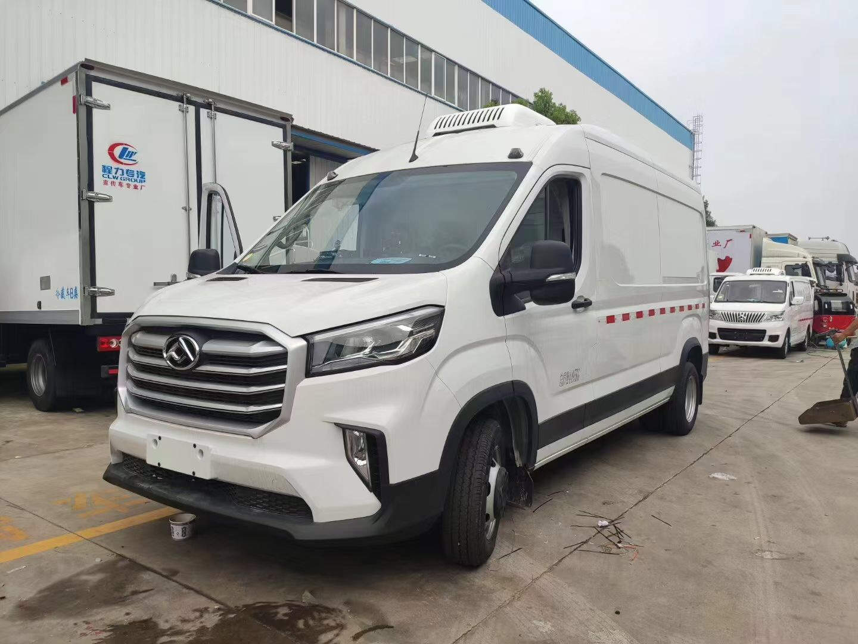 四川广元海鲜冷冻车程力冷藏车资料