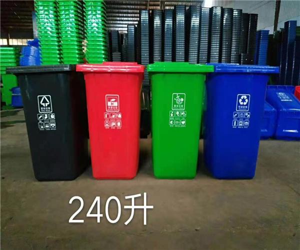 荆州市挂车塑料垃圾桶生产及特点