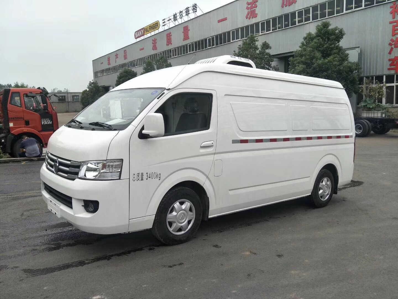 恒山福田奥铃4.2米型冷藏运输车冷链车程力冷链车