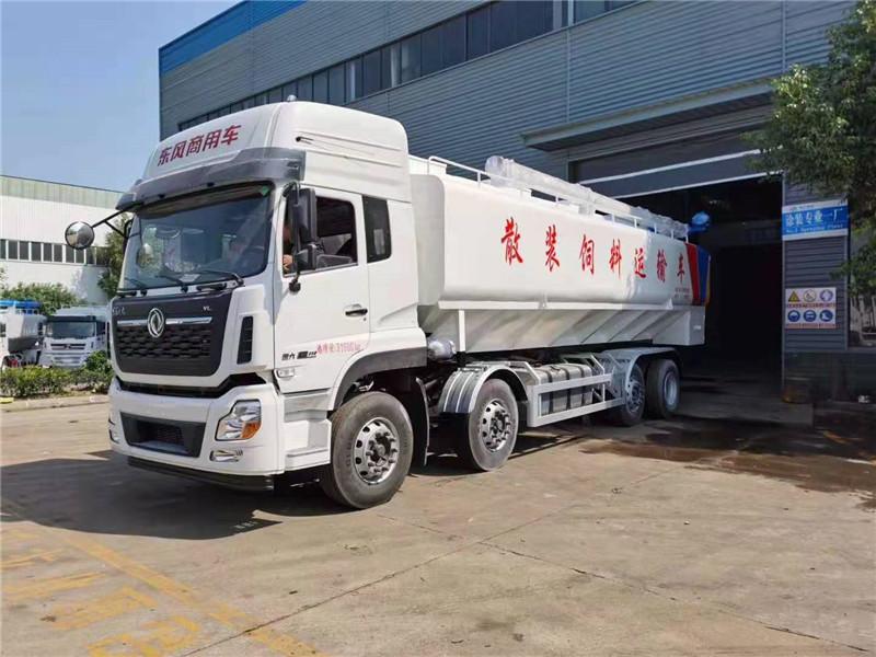 桂林散裝運輸飼料車多少錢一輛