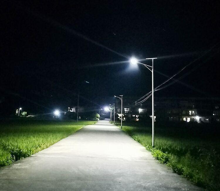 曹妃甸农村路灯led6米太阳能都什么价位