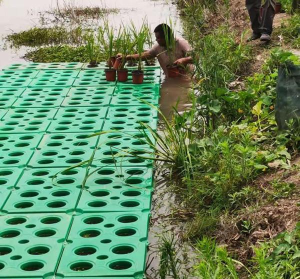 六盘水水上人工浮岛施工