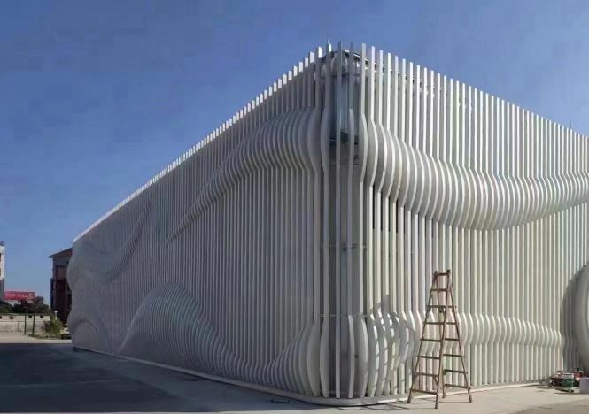 上海冲孔铝单板多少钱一方——【艺铝建材】