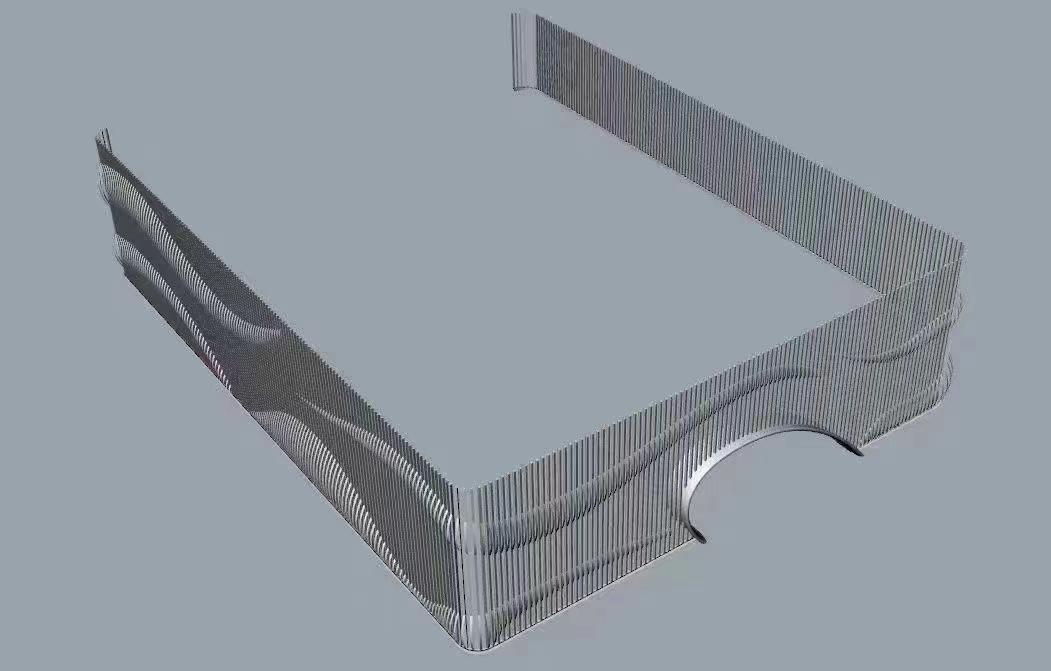 温州弧形铝单板多少钱一方——艺铝建材