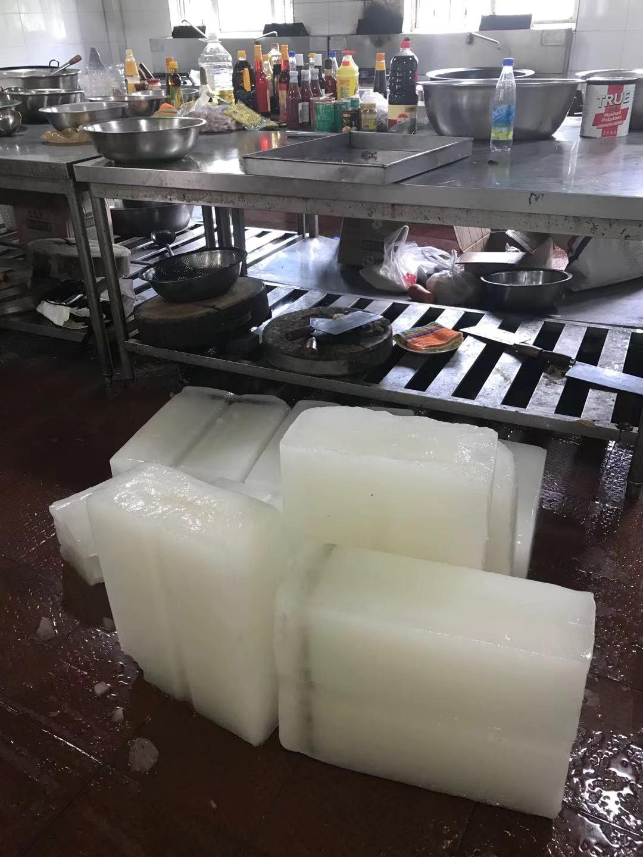上海浦东合庆镇预约降温大冰块工业冰配送制冰厂工业冰块批发配送