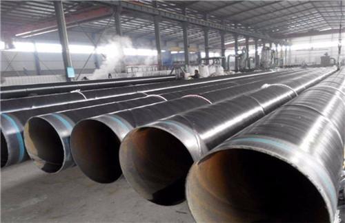 山东省聊城市加强级三层聚乙烯防腐螺旋管知名厂家