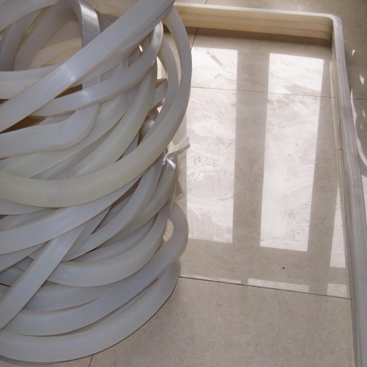 雨山区裤子定型罐白色实心硅胶条直销厂家