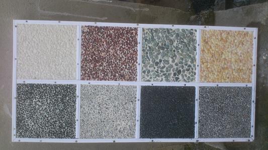 宜春胶筑彩石路面施工流程
