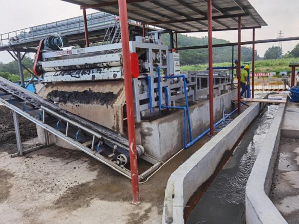 延安污水处理厂污泥脱水-板框机脱水