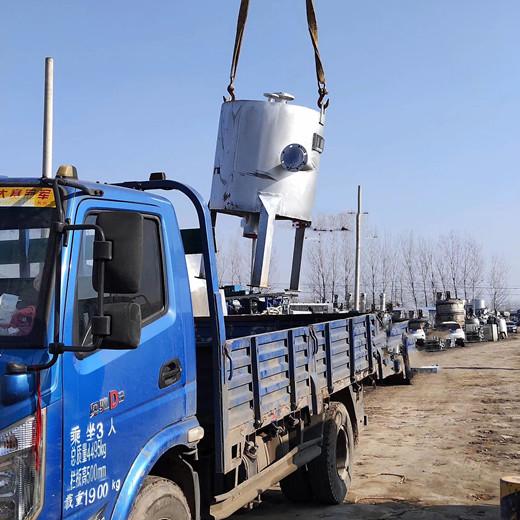 抚州临川二手供应二手不锈钢列管冷凝器化工设备150方