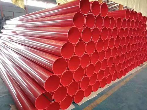 煤矿涂塑钢管用于给排水管线当雄县
