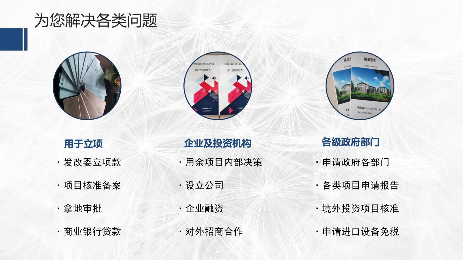 宝丰县可以写可行性报告可以案例公司