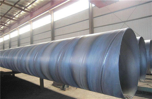 湖南省怀化市DN600螺旋钢管实体厂家