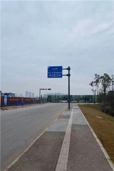 迪庆香格里拉4G公交站点监控立杆 新农村太阳能路灯杆_工艺精良