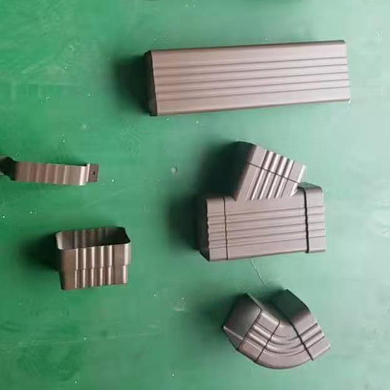 吉林省白山市屋檐铝合金水槽来图定制