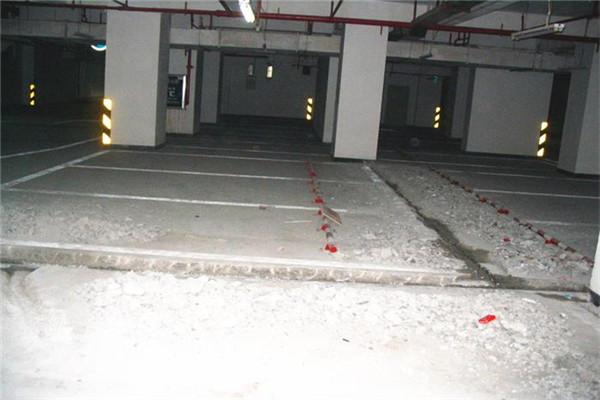 石家庄市地下停车场堵漏公司——注重安全单位